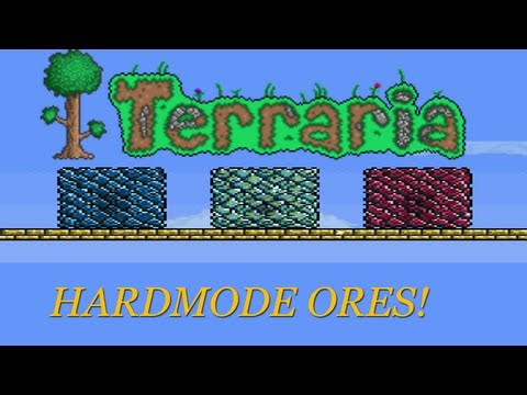 Terraria Tutorial for Noobs: EASY HARDMODE ORES!!!