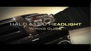 Spyder Auto Installation: LED Halo Headlights Install Overview