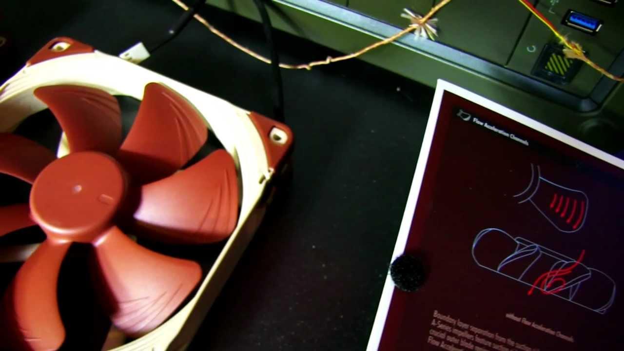 Noctua NF A15 PWM 140mm Heatsink Optimized Cooling Fan