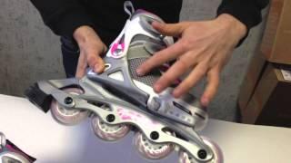 Детские ролики Rollerblade Spitfire SL G 2014 года(Купить ролики с доставкой по всей Украине можно в магазине http://proroliki.com.ua Это краткий обзор детской модели..., 2013-12-13T19:11:38.000Z)