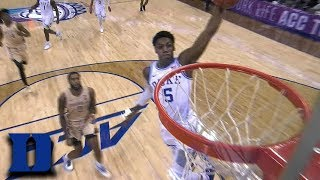 RJ Barrett Turns The 'Noles Over And Turns Up On The Rim