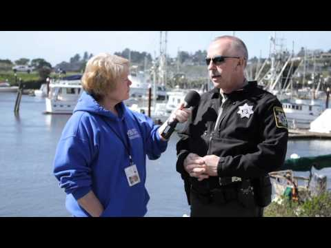 Tsunami hits the port of brookings harbor oregon interview with john ward
