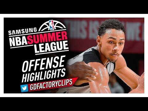 Bryn Forbes 2017 Summer League Spurs Offense Highlights - ELITE Shooter!