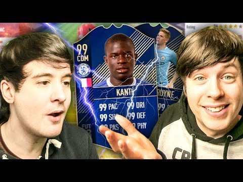 IT'S ALL DOWN TO THIS - FIFA 18 TEAM OF THE YEAR / TOTY