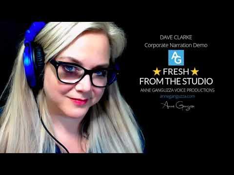 Dave Clarke - Corporate Narration Demo