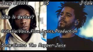 J.Cole vs Joey Bada$$. Who is better?
