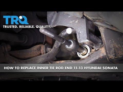 How to Replace Inner Tie Rods 11-14 Hyundai Sonata