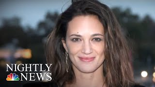 Alleged Text Messages Appear To Contradict Asia Argento's Denial Of Relationship | NBC Nightly News