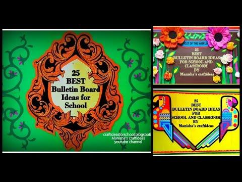 25 Best Bulletin Board Ideas For School And Classroom 2020 , Bulletin Board  Decoration Ideas