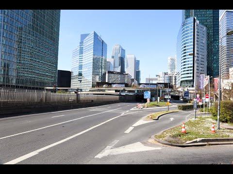 Paris Confinée : La Défense, Les Champs-Élysées, L'arc De Triomphe