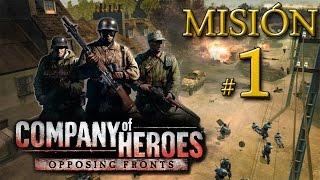 """CoH: Opposing Fronts - Operación Market Garden - Misión 1: """"Wolfheze"""""""