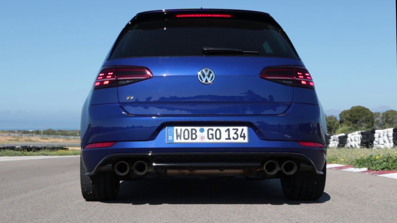 vw golf r gets loud akrapovi exhaust new performance brakes. Black Bedroom Furniture Sets. Home Design Ideas