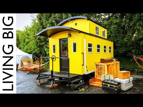 Beautiful Train Caboose Inspired Tiny House At Portland Hotel Mp3