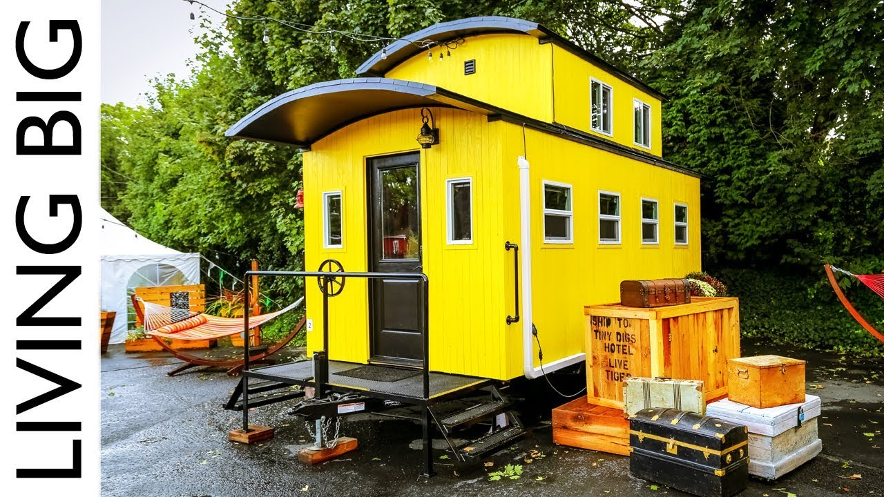 Beautiful Train Caboose Inspired Tiny House At Portland Hotel on rome house plans, water house plans, passenger car house plans, pittsburgh house plans, riverside house plans, richfield house plans, washington house plans, rockwood house plans, round barn house plans, israel house plans, construction house plans, roadside house plans, hanover house plans, california house plans, springfield house plans, 1800's house plans, truck house plans, palmyra house plans, windsor house plans, railroad home,