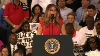 First lady: I will stay true to myself