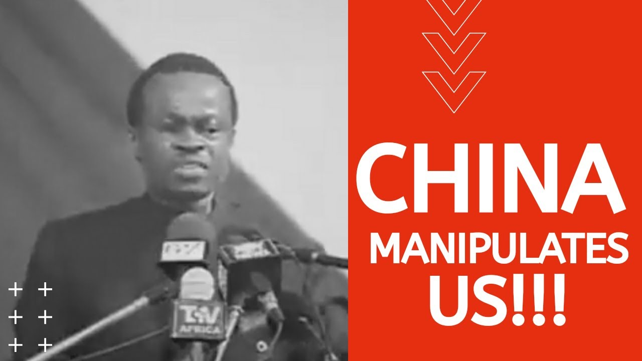 """China Manipulates Us"" - Professor Lumbumba on African Leaders"
