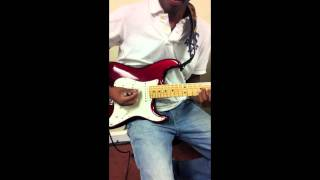 "Gospel Guitar At New Life in Savannah Georgia "" Xeryus Gittens"""