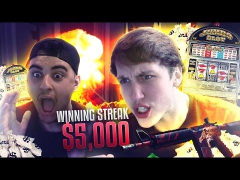 WINNING STREAK $5,000 (CS:GO SKINS)
