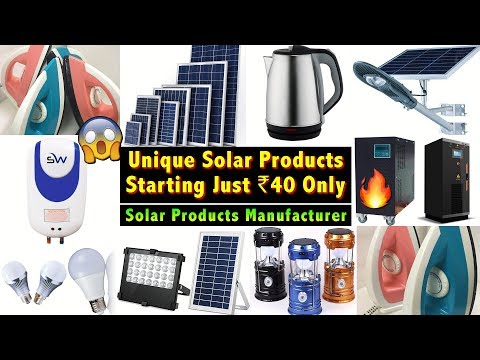 Buy Solar Products Directly From Manufacturer | Solar Panel, Geyser, Led Lights, Power Inverter, Ups