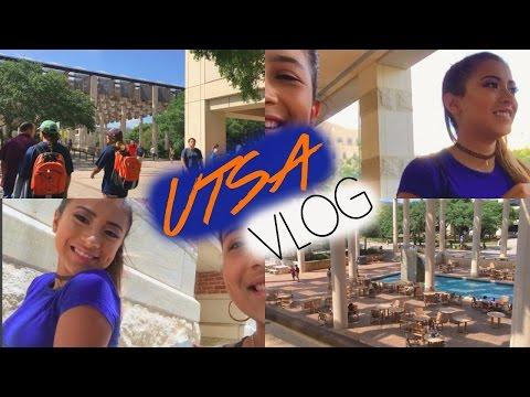 UTSA COLLEGE TOUR + TEXAS HEAT | Lesly Polett Vlogs