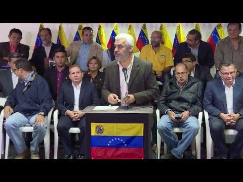 Oposición venezolana apuesta por boicot a elección presidencial