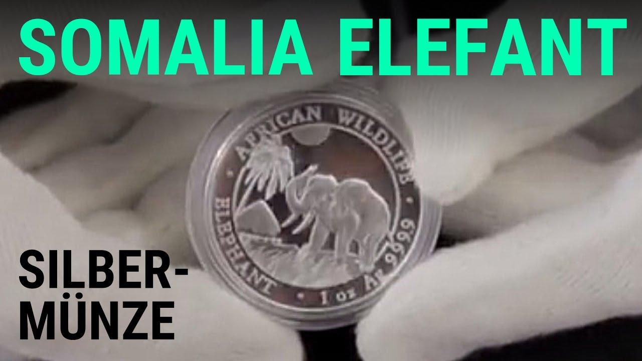 Silber Kaufen Somalia Elefant 2017 Tolle Münze Als Anlage