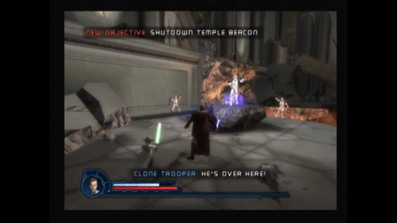 Star Wars Revenge Of The Sith Ps2 Walkthrough Aftermath In The Temple 1 2 Youtube