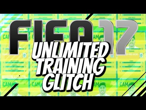 FIFA 17 Training Glitch