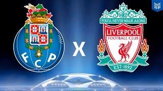 PORTO x LIVERPOOL - CHAMPIONS LEAGUE (FIFA 18 GAMEPLAY)