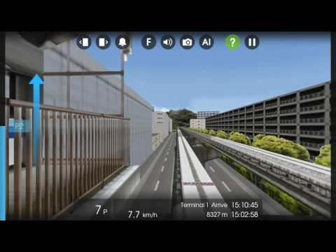 [1080P]Hmmsim 2東京モノレール/東京單軌 区間快速 Tokyo Monorail Regional Rapid