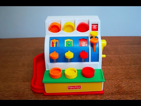 The Fisher Price Cash Register Youtube