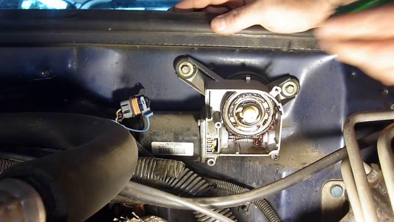 GMC/CHEVY PULSE BOARD INTERMITTENT WIPER FIX - YouTube
