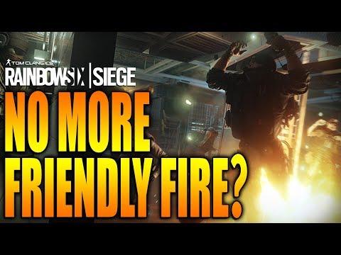 Rainbow Six Siege - In Depth: NO MORE FRIENDLY FIRE???