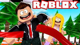 WHO RENNT SCHNELLER?! YOUNG VS. GIRLS! - Roblox [English/HD]