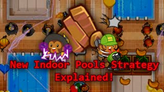 BTD Battles - Awesome Engineer strategy for Indoor Pools