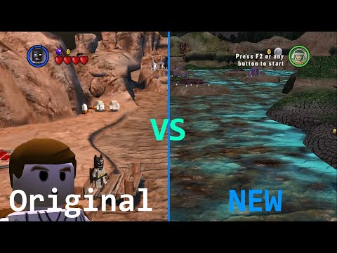 The Art of LEGO Modding - The Before and After of my custom LEGO Star Wars The Complete Saga Levels |
