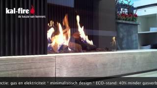 Fairo ECO-prestige, gashaard met een ongekend realistisch vuurbeeld
