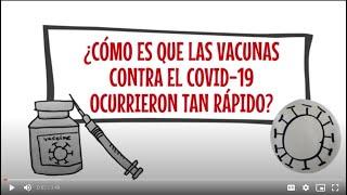 ¿Cómo hicieron la vacuna contra el Covid-19 tan rápido?
