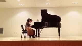 2016年 ピアチェーレピアノ研究会 秋のコンサートにて演奏。 当日はリハ...