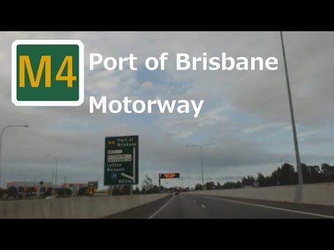 【Brisbane】M4 Port of Brisbane Motorway M1 - Brisbane port