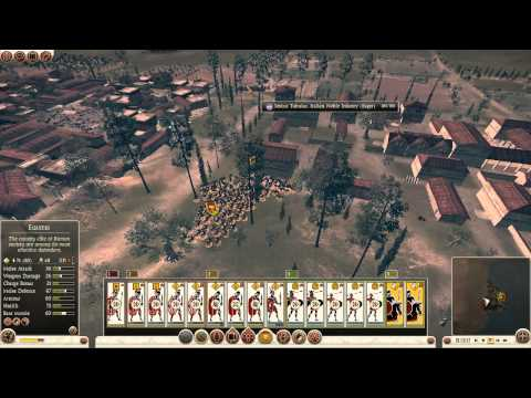 TW Rome II - Gameplay using Ars Gratia Artis Mod feat. Rome