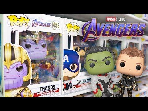 Avengers Endgame Funko Pop Hunting