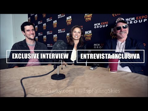 Falling Skies Interview: Game & Darkest season ever? SUB ESP