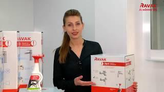 Обзор набора смесителей для душа Ravak Classic 3-в-1