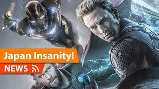 Japan Sells out Avengers Endgame within Seconds