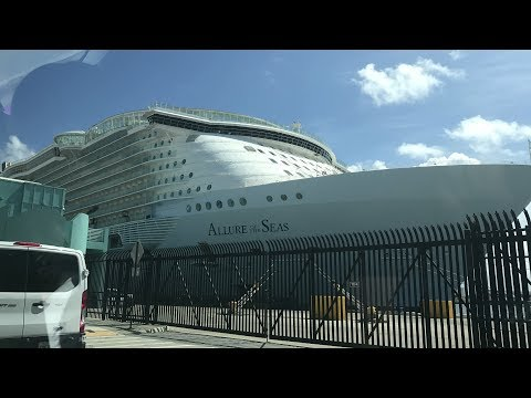Allure of the Seas cruise Day 1 - Port Everglades - August 6th, 2017