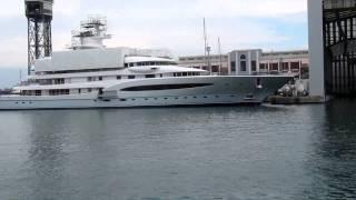 Super Yacht Titan & Luna  in Barcelona