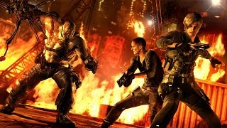 Resident Evil 6 - PS4 vs PS3 vs Xbox One Graphics Comparison