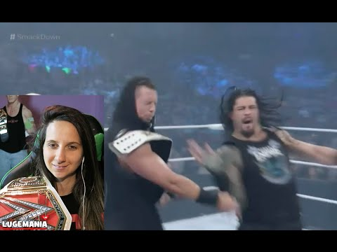 WWE Smackdown 4/28/16 Roman Reigns opens