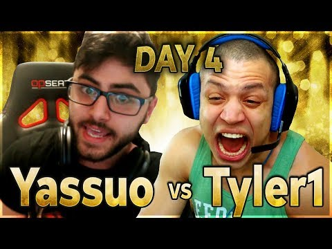 MOE COMPLETELY LOSES IT | YASSUO VS TYLER1 - $10K BET: DAY 4